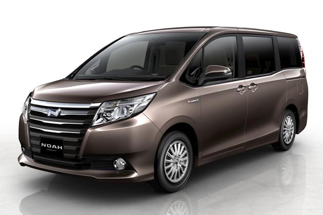 トヨタ、東京モーターショー2013へ次期「ノア・ヴォクシー」のハイブリッドコンセプトモデルなどを出展 -新型ノア・ヴォクシーハイブリッドは2014年年初に発売予定-