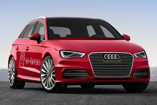 Audi A3 Sportback e-tron : 日本初出品