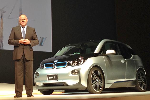 BMW iブランド発表会の模様