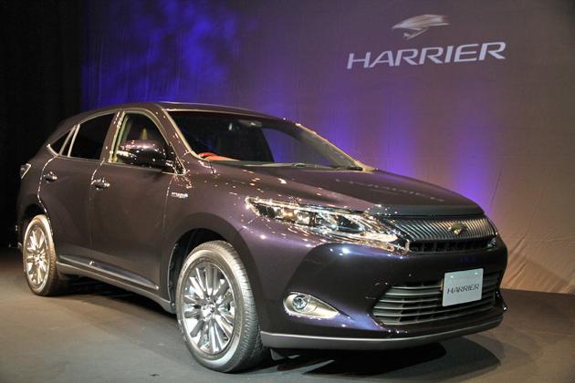 トヨタ 新型 ハリアー/ハリアーハイブリッド 発表会[2013/11/13]