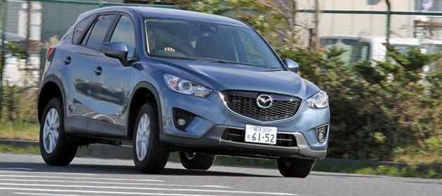 マツダ 新型 CX-5[2013年11月一部改良モデル] 試乗レポート/渡辺陽一郎