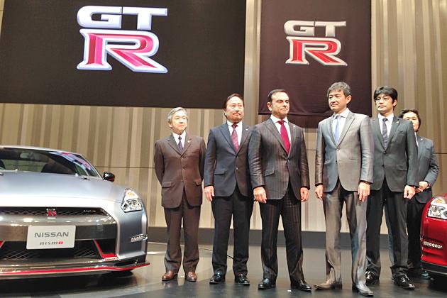 日産 GT-R 2014年モデル発表会の模様
