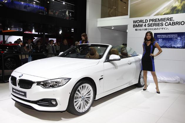 【東京モーターショー2013 現地速報】6月に発表されたばかりの4シリーズが早くもカブリオレに!「BMW 4シリーズ カブリオレ」世界初公開!