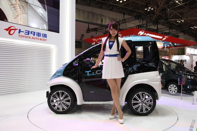 トヨタ車体 超小型EV「コムス T・COM」