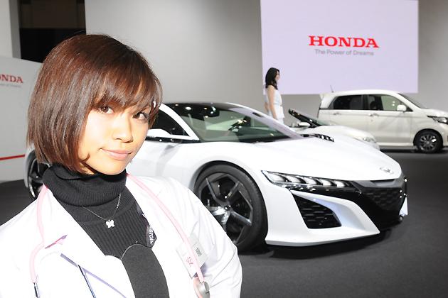 【綺麗な女医さんは好きですか?】安枝瞳の東京モーターショー診察中!【ホンダ編】