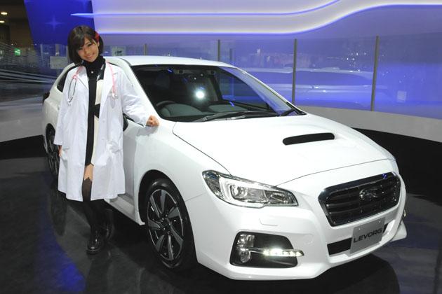 【綺麗な女医さんは好きですか?】安枝瞳の東京モーターショー診察中!【スバル・いすゞ・日野編】