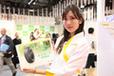 東京モーターショー2013 ダンロップブースのコンパニオン