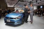 輸入車初の快挙!フォルクスワーゲン ゴルフが2013-2014日本カー・オブ・ザ・イヤー受賞
