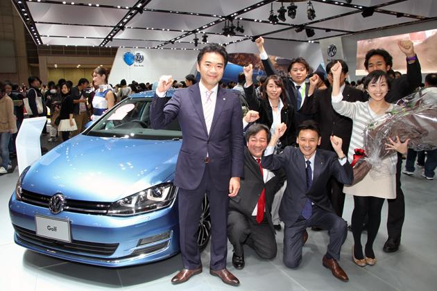 2013-2014 日本カー・オブ・ザ・イヤーが「VW ゴルフ」に決定! ~輸入車初の受賞、VGJ庄司社長に独占インタビュー!~