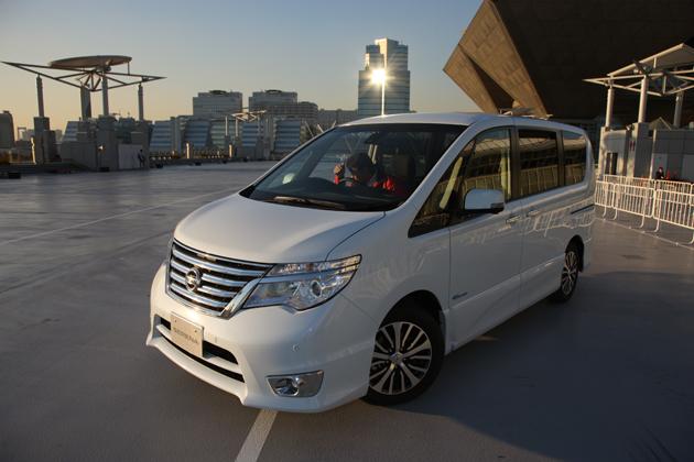 【東京モーターショー2013 現地速報】高度運転支援システム テストライドに新型セレナやエクストレイル早くも登場!