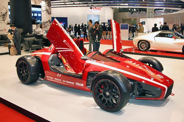 KEN OKUYAMA DESIGN(ケンオクヤマデザイン) オープンスポーツカー・ライトウェイト仕様「kode7 Clubman(コードセブン クラブマン)」【東京モーターショー会場速報】