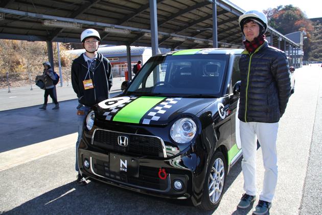 N-ONE レーススタディモデルに学生カーソムリエが体験試乗!「Honda Racing THANKS DAY」レポート/マリオ高野