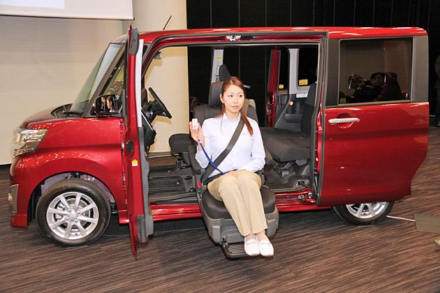 軽福祉車両トップブランドの意地、ダイハツが体制強化を発表