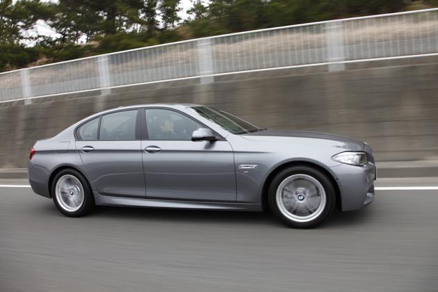 ニュー BMW 5シリーズ「523d M Sport」(クリーンディーゼル)[2014年マイナーチェンジモデル] 試乗レポート/国沢光宏 4