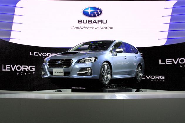 スバル レヴォーグ(LEVORG)新型車解説/渡辺陽一郎
