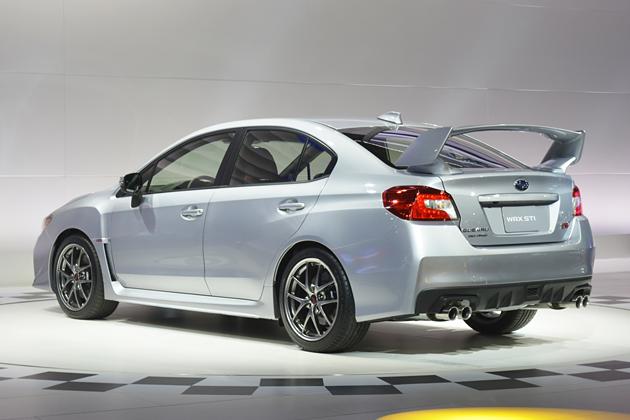 スバル新型「WRX STI」