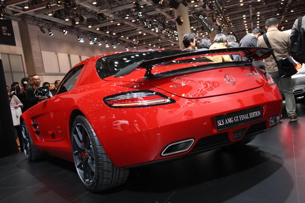 メルセデス・ベンツ「SLS AMG」の最終モデル「SLS AMG GT FINAL EDITION」