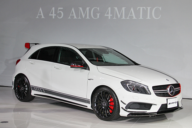 メルセデス・ベンツ Aクラス「A45 AMG 4MATIC」