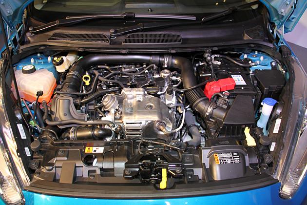 フォード 新型「フィエスタ 1.0L EcoBoost(エコブースト)」