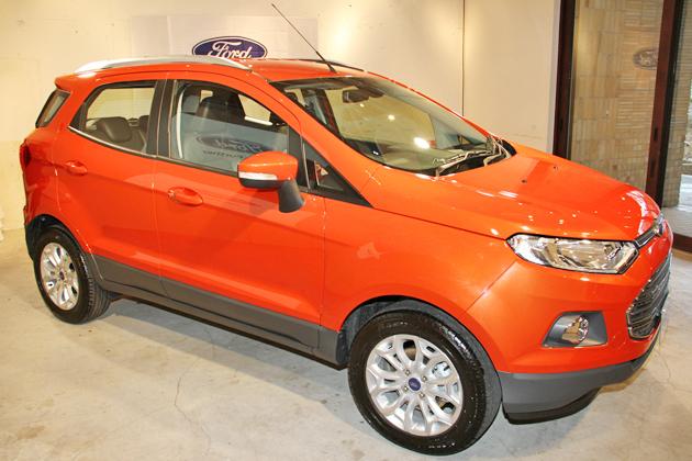 フォード 新型「エコスポーツ」