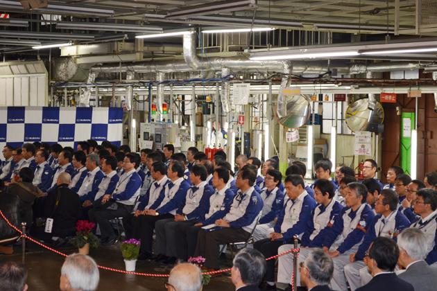 スバル 国内生産2000万台達成 記念式典