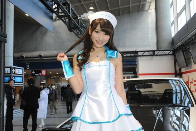 東京オートサロン2014 avex 渡辺順子さん