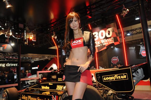 東京オートサロン2014 NGKブース
