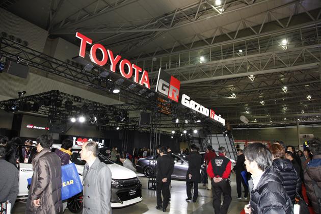 東京オートサロン2014 TOYOTA/GAZOO RACINGブース