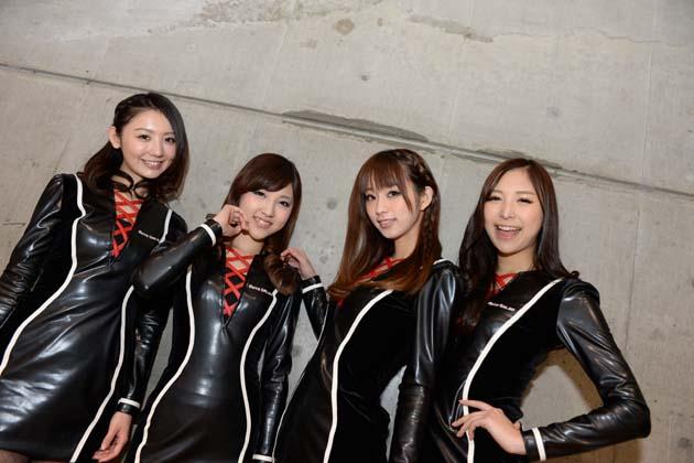 【速報!】東京オートサロン2014イメージガール「A-class」が綺麗すぎる!【東京オートサロン2014】