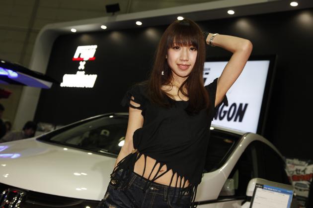 東京オートサロン2014 スタイルワゴンxフジ・コーポレーション