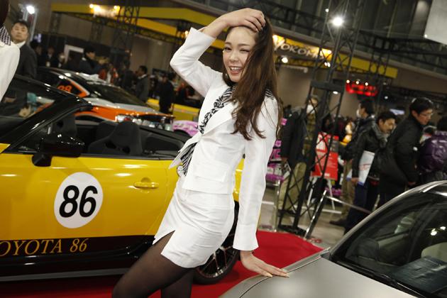 東京オートサロン2014 トヨタ・GAZOOレーシング