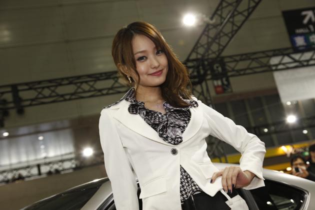 東京オートサロン2014 トヨタ・GAZOOレーシング 水谷望愛さん