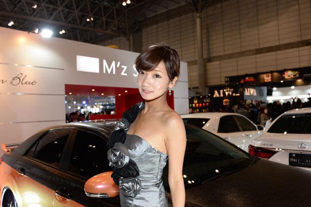 東京オートサロン2014 M'zSPEEDブース