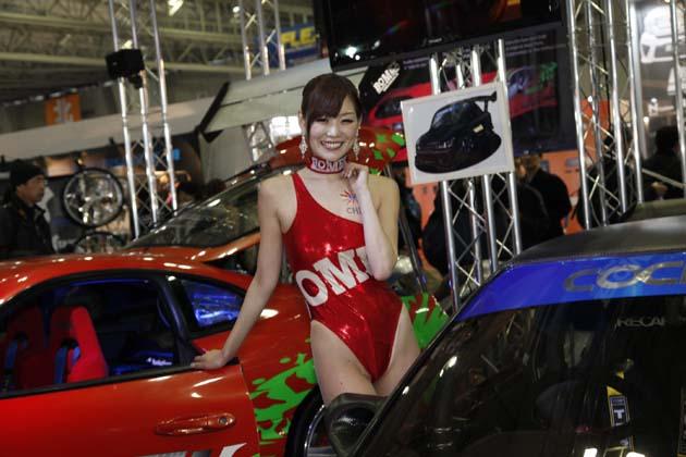 東京オートサロン2014 セクシーコンパニオン特集