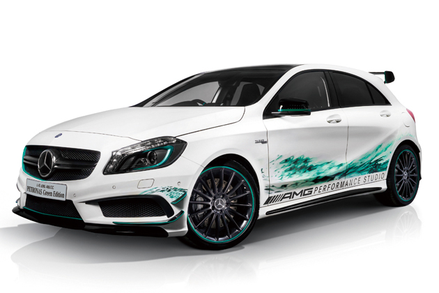 A 45 AMG 4MATIC PETRONAS Green Edition