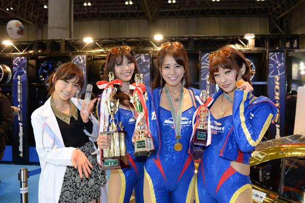 東京オートサロン2014 日本レースクイーン大賞受賞式