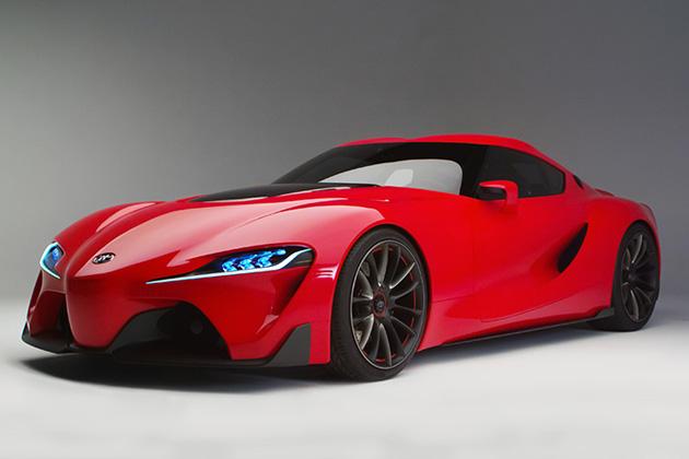 トヨタ、2014年北米国際自動車ショー(デトロイトモーターショー)にクーペデザインコンセプト「TOYOTA FT-1」を出展
