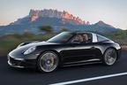 ポルシェ、デトロイトモーターショー2014で新型911タルガ4・タルガ4Sをワールドプレミア