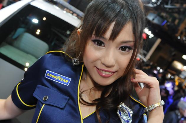 グッドイヤーブース「松原杞沙さん」/東京オートサロン2014