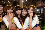 大人気ユニット「ドリエン」が幕張に舞い降りた!【東京オートサロン2014】