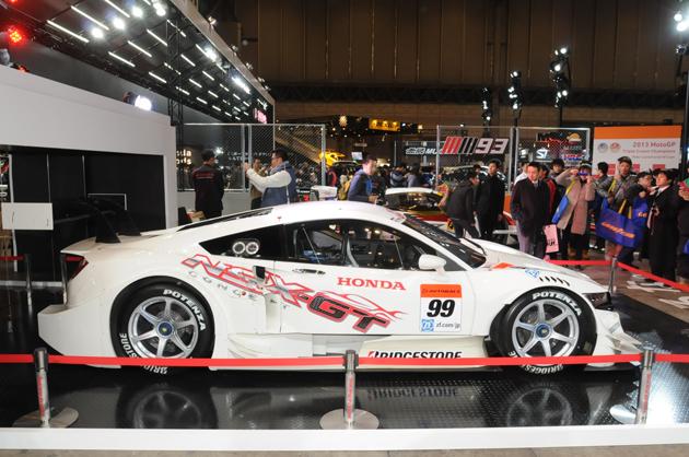 ホンダブースでは、「ヴェゼル」のカスタムコンセプトから2014年 SUPER GT 採用モデルの「NSX CONCEPT-GT」など様々なモデルを展示!【東京オートサロン2014】