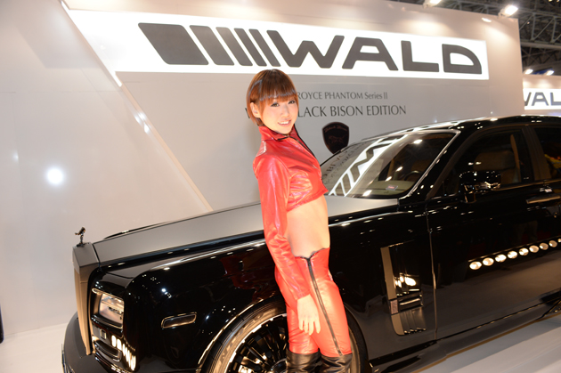 WALDブース/東京オートサロン2014