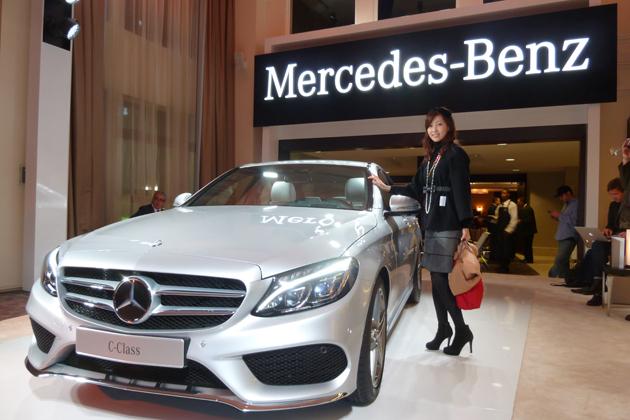 メルセデス・ベンツ 新型「Cクラス」デトロイトMS2014 現地レポート!/吉田由美