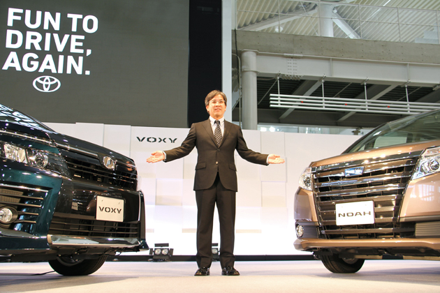 トヨタ 新型「ヴォクシー」&「ノア」新型車速報 ~ハイブリッドで23.8km/Lの超低燃費を実現~