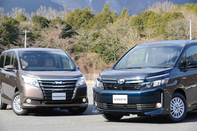 トヨタ 新型ヴォクシー・新型ノア vs 日産 セレナ どっちが買い!?徹底比較