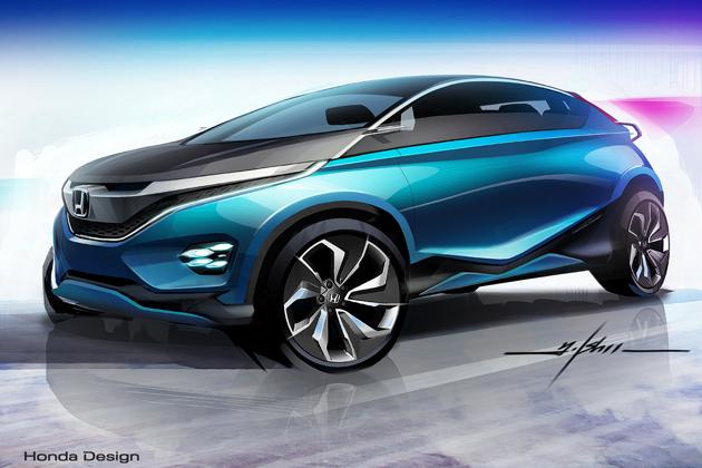 Honda Vision XS-1 (スケッチ) 2