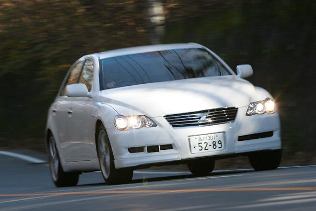 トヨタ マークX 試乗レポート