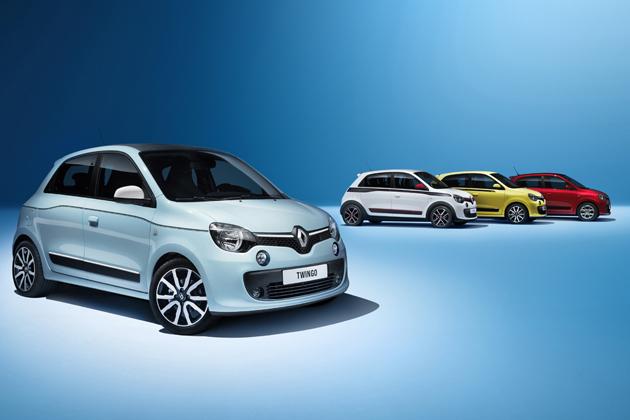 【ジュネーブショー2014】ルノー、小型車「トゥインゴ」をフルモデルチェンジ ~3代目はスマートとの共同開発~