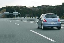 スズキ スイフトXS-DJE 高速道路にて実燃費計測/ワインディング走行イメージ3