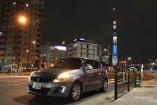 スズキ スイフトXS-DJE 実燃費計測/東京スカイツリー周辺